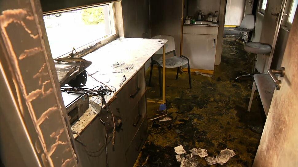 """Ktoś wywołał pożary w punkcie szczepień i w sanepidzie w Zamościu. """"Nie będzie żadnej tolerancji"""""""