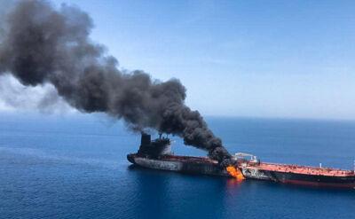Drugi taki przypadek w ciągu miesiąca. Atak na tankowce w Zatoce Omańskiej