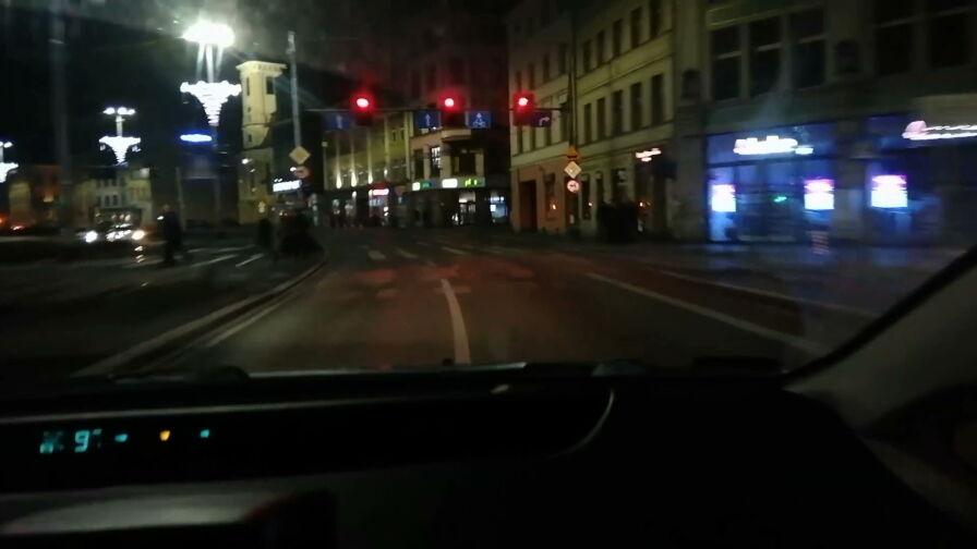 Auto zamówione przez aplikację. Pijany kierowca gnał ulicami Wrocławia