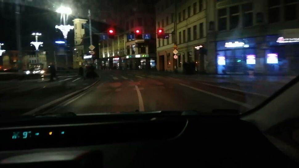Rajd pijanego kierowcy Ubera po ulicach Wrocławia. Zareagował pasażer