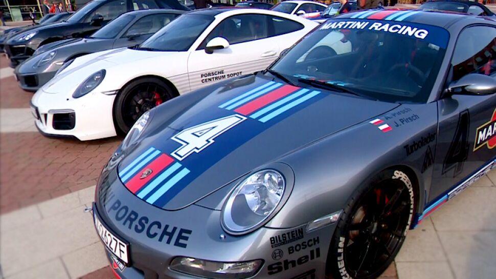 """Jubileuszowa parada Porsche w Łodzi. """"Legenda. Zdecydowanie"""""""
