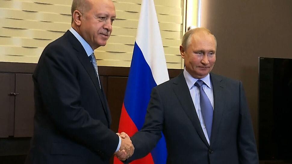 Turecka ofensywa w Syrii. Putin spotkał się z Erdoganem