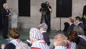 Kilkudziesięciu byłych więźniów na uroczystościach w Auschwitz-Birkenau
