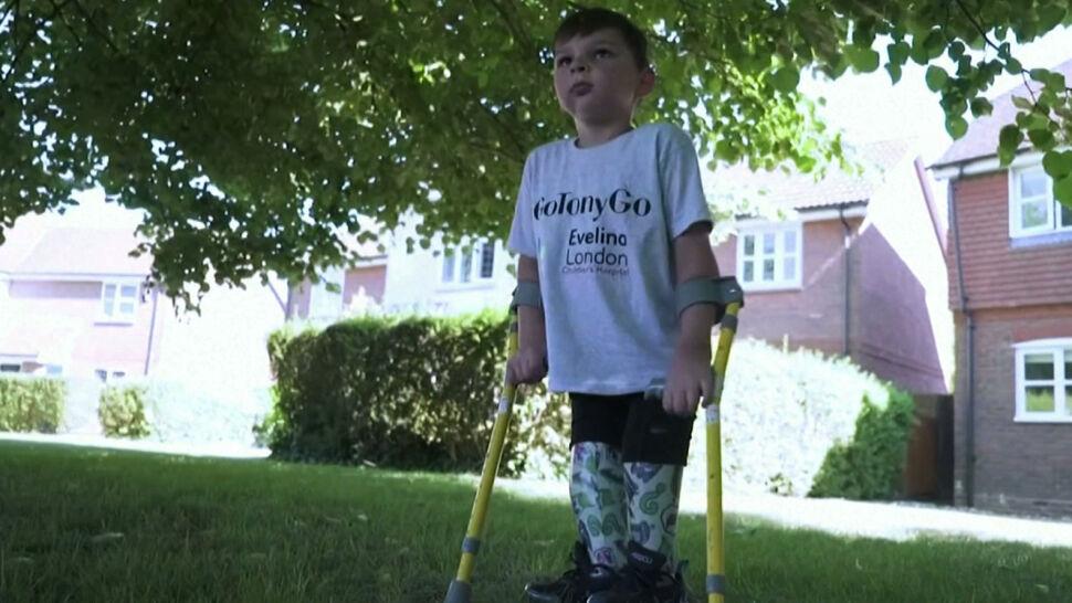 Niezwykła historia 5-letniego Tony'ego. Chciał zebrać 500 funtów na szpital, zebrał ponad milion