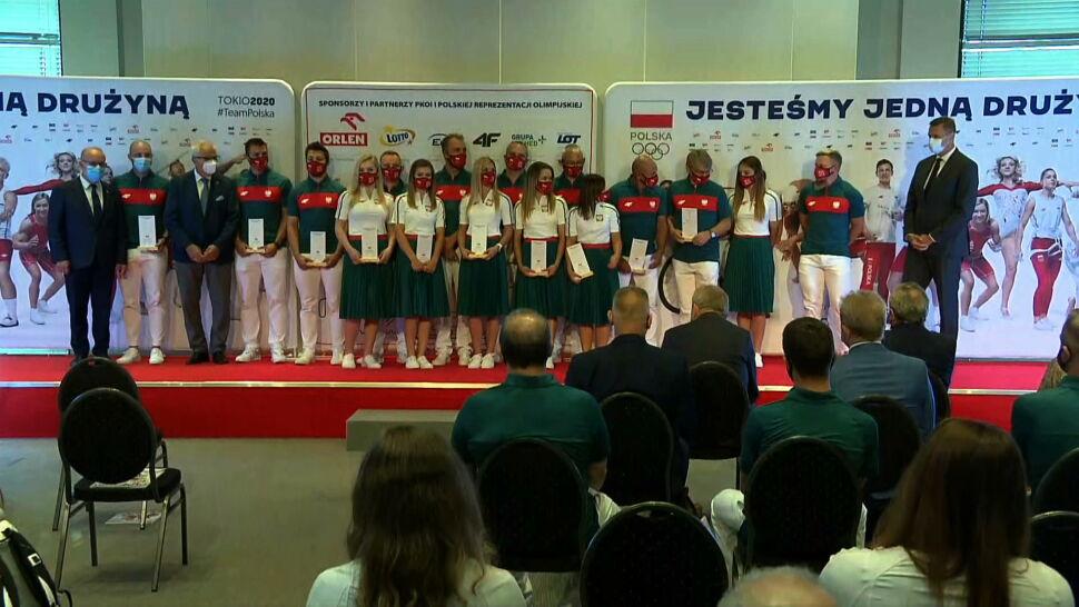 Czwarta część polskiej reprezentacji po ślubowaniu olimpijskim