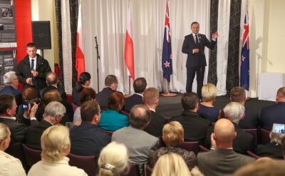 Andrzej Duda in New Zealand. There are embarrassing questions