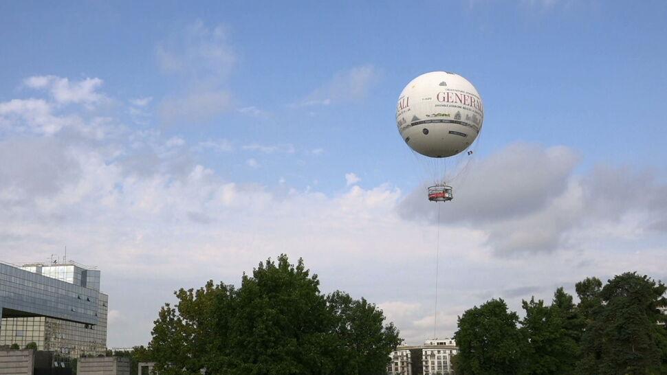 Paryski balon podwójnego przeznaczenia: do podziwiania widoków i badania powietrza