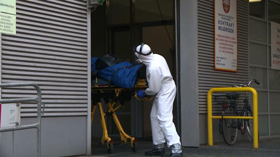 Ponad 10 tysięcy zakażeń jednej doby. Ministerstwo zdrowia grozi karami za odsyłanie pacjentów