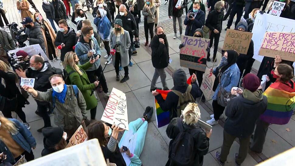 Protesty po decyzji TK nie ustają