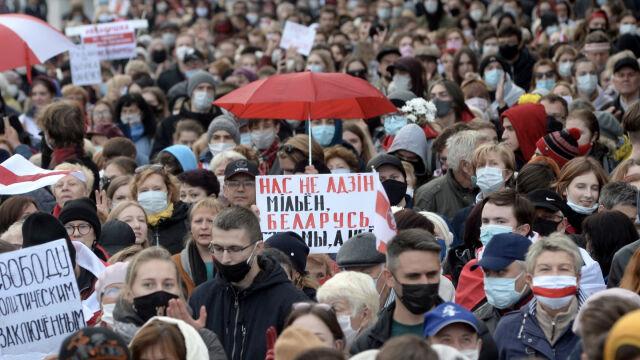 26.10.2020 | Białorusini rozpoczęli strajk generalny