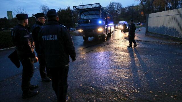 Trafią do aresztu po zamieszkach przed komendą w Koninie