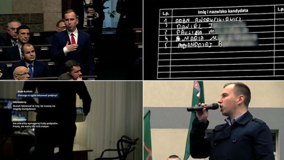 """""""Wiceminister i sfałszowane podpisy"""". Reportaż """"Superwizjera"""" w TVN24"""