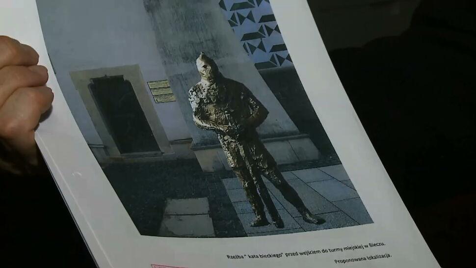 """W Bieczu ma stanąć pomnik kata. """"Ma być symbolem sprawiedliwości"""""""