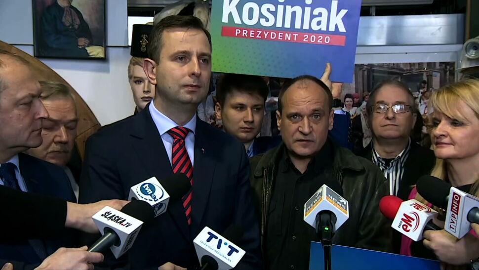 Władysław Kosiniak-Kamysz jako pierwszy kandydat złożył podpisy poparcia w PKW