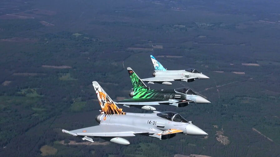 Ćwiczenia NATO Tiger Meet w Krzesinach