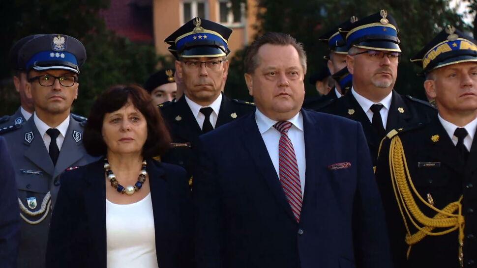 Policjanci przebrani za SOP przed domem Zielińskiego. Trwa kontrola