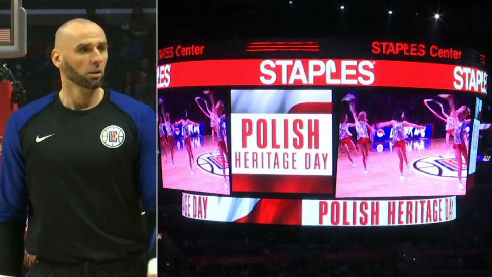 """Gortat przybliża Amerykanom polską kulturę. """"Tłumaczę im, jakim jesteśmy krajem"""""""