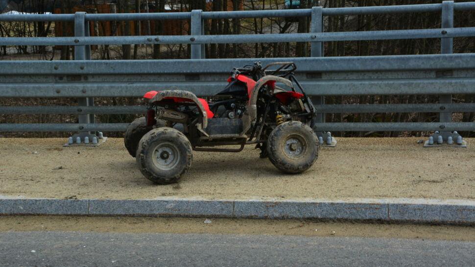 Dziewięciolatek w ciężkim stanie po wypadku na quadzie