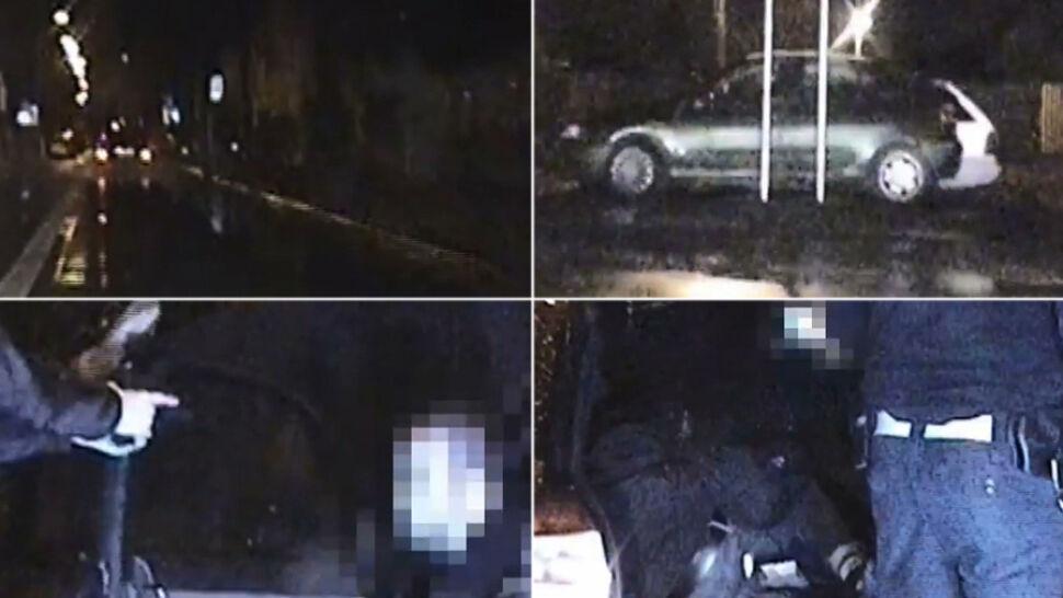 Osiem osób w samochodzie i pościg policji. Kierowca był pijany