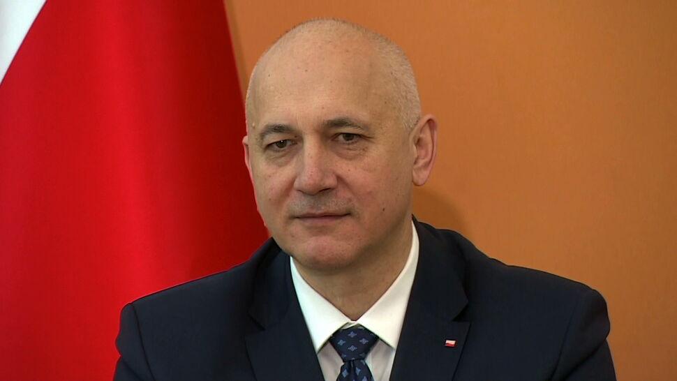 """Ciężka noga kierowcy szefa MSWiA. """"W tej sprawie minister Brudziński zachował się w porządku"""""""