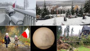Pierwszy śnieg, silny wiatr czy wędrujący Merkury?