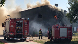 More than a dozen thousand chickens burned in the chicken coop