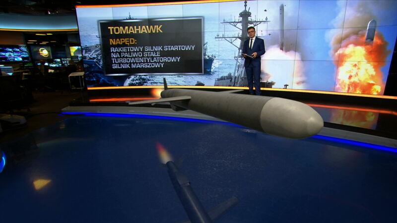 Pociski Tomahawk spadły na syryjską bazę. Wszystko, co musisz o nich wiedzieć