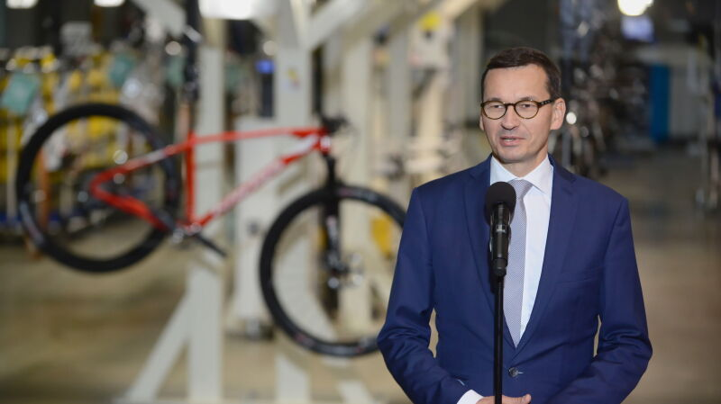 Premier Morawiecki o wejściu Polski do grona krajów rozwiniętych