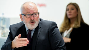 Timmermans says von der Leyen will be monitoring respect for the rule of law