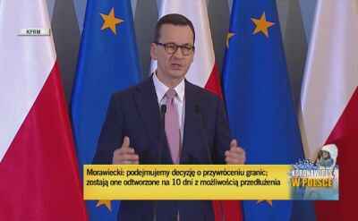 Premier o procedurach na granicach kraju