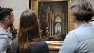Po wojnie została tylko rama. Zaginiony obraz wrócił do Warszawy