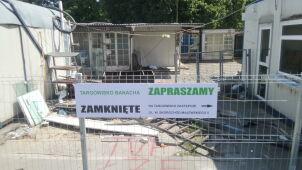 Nie pomogły protesty. Zamknięto bazar, powstaną mieszkania