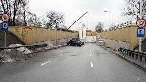Tunel Wisłostrady zamknięty do kwietnia