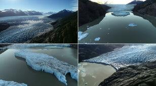W Chile powstały dwie nowe góry lodowe