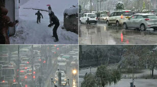 In northern India under the snow