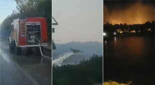 Pożar na chorwackim festiwalu. Tysiące ewakuowanych osób