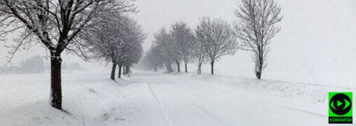 Atak zimy w wielu regionach kraju. Śnieg powoduje poważne utrudnienia