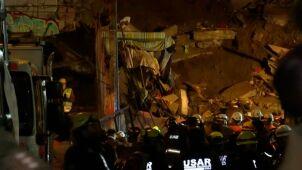 Tragiczne skutki osuwiska w Chile