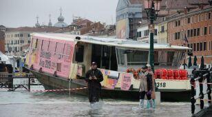 Woda wdarła się do krypty Bazyliki św. Marka. Wenecja pod wielką wodą