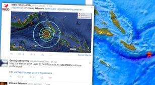 To już trzecie trzęsienie ziemi w ognistym kręgu Wysp Salomona