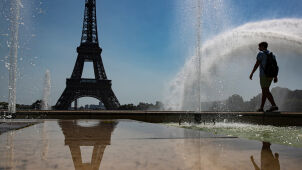 Nieznośny upał we Francji. Termometry pokazały ponad 41 stopni
