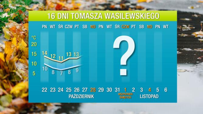 Prognoza pogody na 16 dni: <br />ciepło już nie wróci do Polski