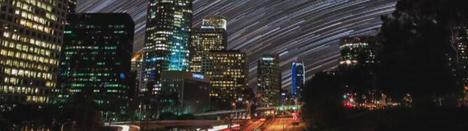 Tak wygląda rozgwieżdżone Los Angeles