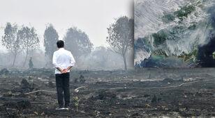 Siewcy chmur walczą z pożarami w Indonezji