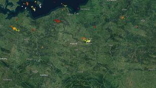 Grzmi w Polsce. Sprawdź,  gdzie jest burza