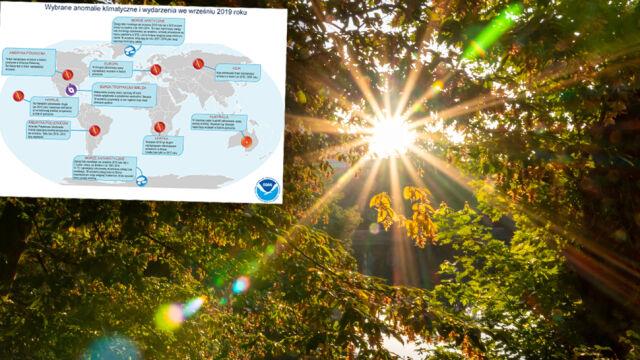 Wrzesień był najcieplejszy w historii pomiarów. Wyrównał rekord z 2015 roku