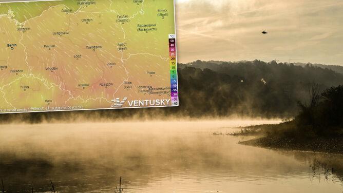 Więcej chmur, miejscami mgły. W wielu regionach nadal powyżej 20 stopni