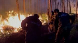 Ogień zamienia Syberię w piekło