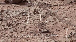 Curiosity powierci w skałach. Mogą w nich być ślady wody i życia