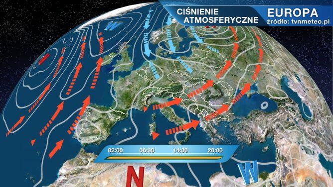 Do Polski płynie zimne powietrze